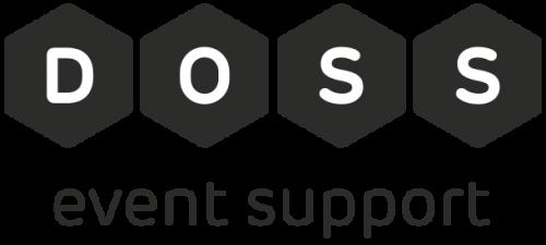 DOSS logo zwart